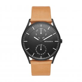 Skagen Holst Multifunction Leather Gents Watch ~ SKW6265