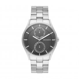 Skagen Holst Steel Link Multifunction Gents Watch ~ SKW6266