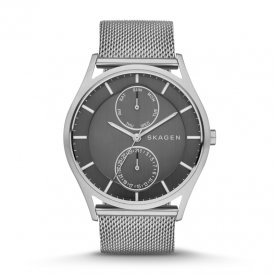 Skagen Holst Steel Mesh Multifunction Watch SKW6172