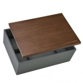 Stackers 8-Piece Watch Box - Charcoal ~ 73648