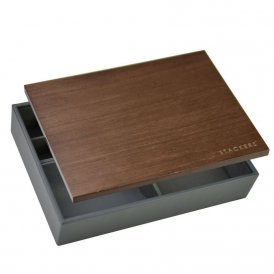 Stackers Classic Valet Box - Charcoal ~ 73646