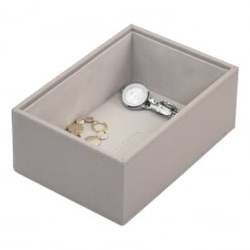 Stackers Mini Watch/Accessories Box - Taupe ~ 73757