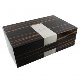 Stratton Ebony Wooden Watch Box