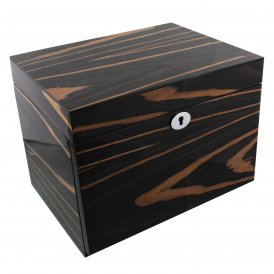 Stratton Wooden Jewellery Box High Gloss Finish Ebony ~ ST1174