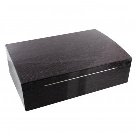 Stratton Wooden Watch Box with Mixed Compartments Natural