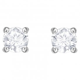 Swarovski Attract Round Earrings - Rhodium ~ 5408436