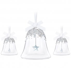 Swarovski Christmas Bell Ornament Set 2016