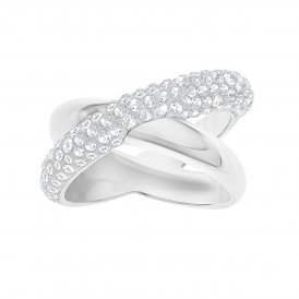 Swarovski Crystaldust Cross Ring White 55 ~ 5367596