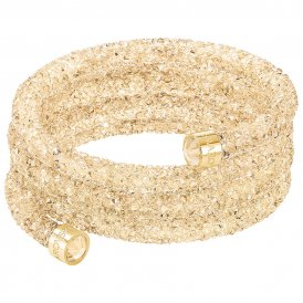Swarovski Crystaldust Wide Gold Bangle Medium ~ 5277587