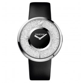 Swarovski Crystalline Black Steel Ladies Watch ~ 1135988