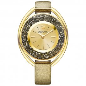 Swarovski Crystalline Oval Ladies Watch Golden ~ 5296314