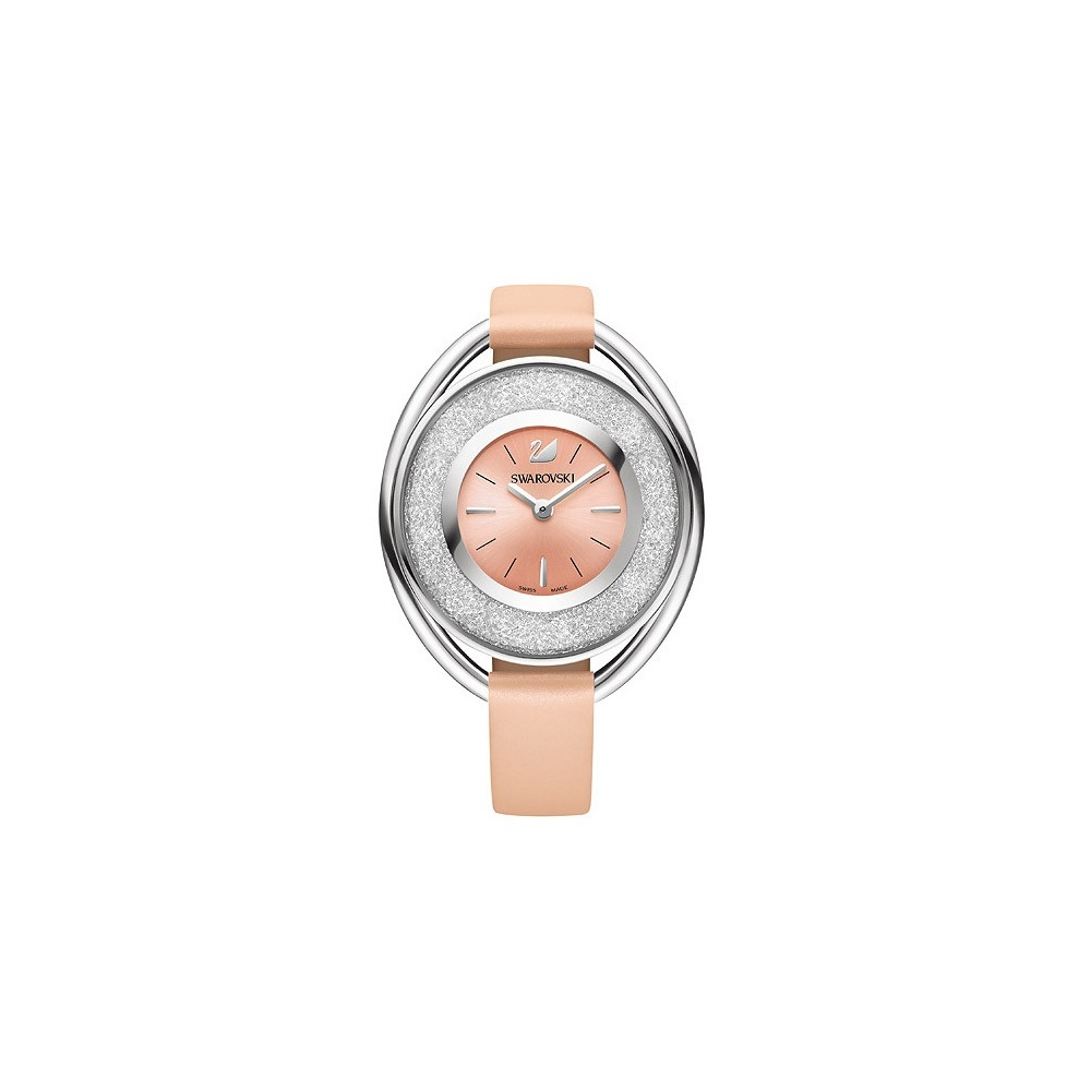 Swarovski Crystalline Oval Light Rose Ladies Watch ~ 5158546 ... 0ae304db39