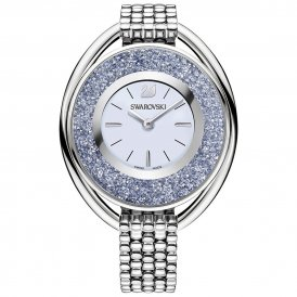 Swarovski Crystalline Oval Silver Tone Ladies Watch ~ 5263904