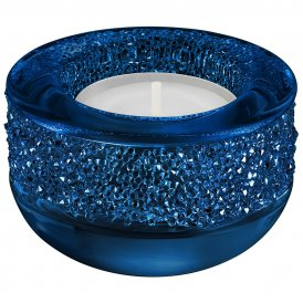 Swarovski Dark Blue Shimmer Tea Light