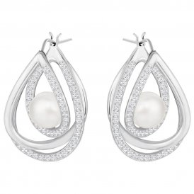 Swarovski Free White Earrings ~ 5217718