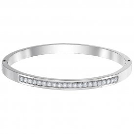 Swarovski Further Thin Bangle - Large - Stainless Steel ~ 5412014