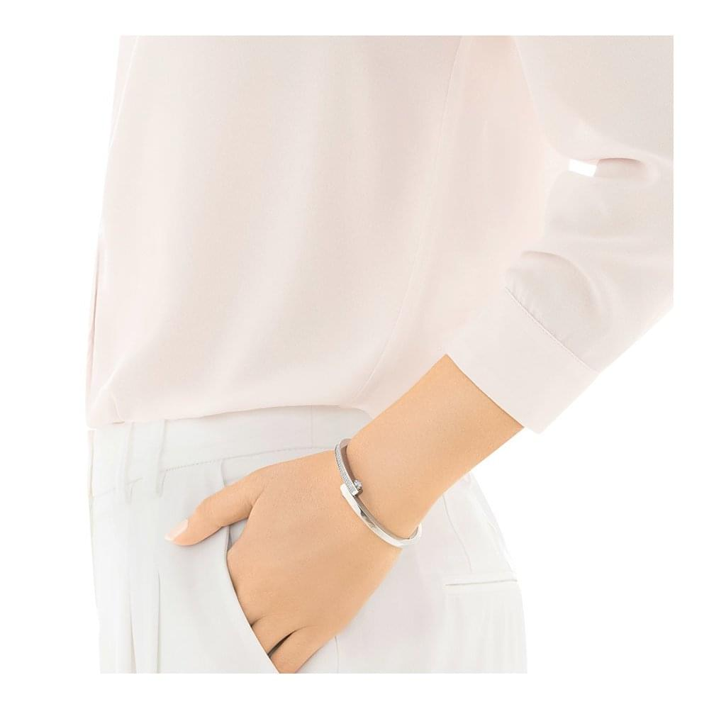 ea35f853df2c9 Get Narrow Bangle - White - Large ~ 5294950