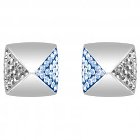 Swarovski Glance Blue Stud Earrings ~ 5272102