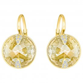 Swarovski Globe Gold Pierced Earrings ~ 5276281