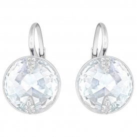 Swarovski Globe White Pierced Earrings ~ 5274314