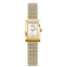 Swarovski Gold Memories Crystal Mesh Ladies Watch