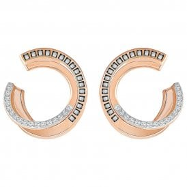 Swarovski Hero Earrings - Rose Gold /Grey ~ 5350662