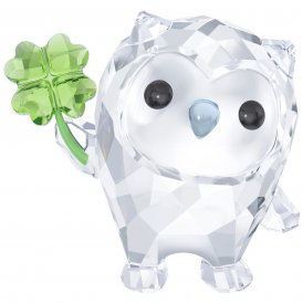 Swarovski Hoot - I'm So Lucky Crystal Figurine ~ 5270265