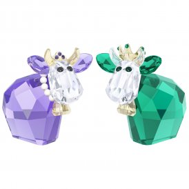 Swarovski King & Queen Mo Crystal Figurine ~ 5270746
