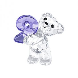 Swarovski Kris Bear Number Nine Crystal Figurine