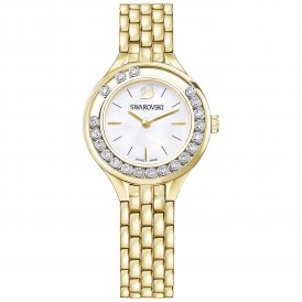Swarovski Lovely Crystals Gold Mini Ladies Watch ~ 5242895