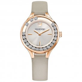 Swarovski Lovely Crystals Rose Grey Mini Ladies Watch ~ 5261481