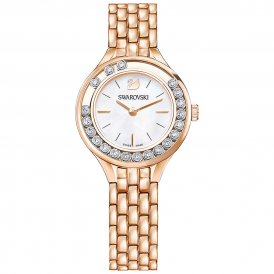 Swarovski Lovely Crystals Rose Mini Ladies Watch ~ 5261496