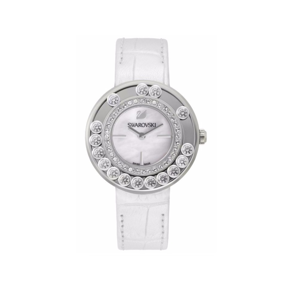 Swarovski Lovely Crystals White Stainless Steel Watch 1160308 ... b34644be42ac