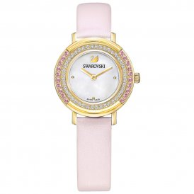 Swarovski Playful Mini Pink Ladies Watch ~ 5261462