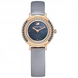 Swarovski Playful Mini Rose Grey Ladies Watch ~ 5243044
