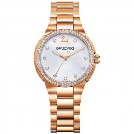 Swarovski Rose Mother-of-Pearl City Mini Ladies Watch
