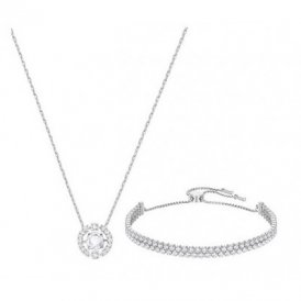 Swarovski Sparkling Dance Set White Rhodium ~ 5291059