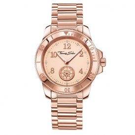 Thomas Sabo Glam & Soul Rose Gold Ladies Watch WA0206-265-208-40