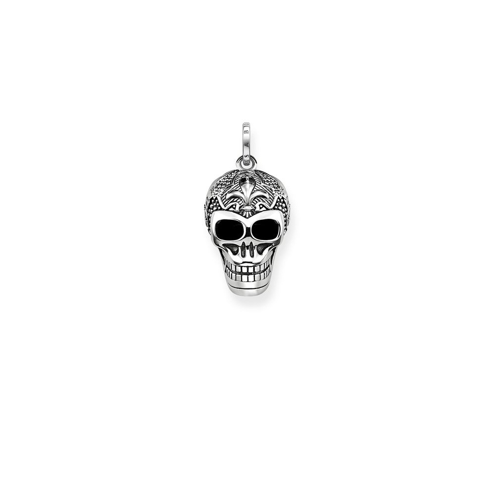 Thomas sabo lily skull pendant blackened silver pe771 637 21 thomas sabo lily skull pendant blackened silver pe771 637 21 mozeypictures Image collections