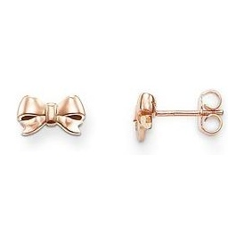Thomas Sabo Rose Gold Bow Stud Earrings ~ H1816-415-12