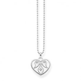 Thomas Sabo Silver Heart Ornamentation Pendant