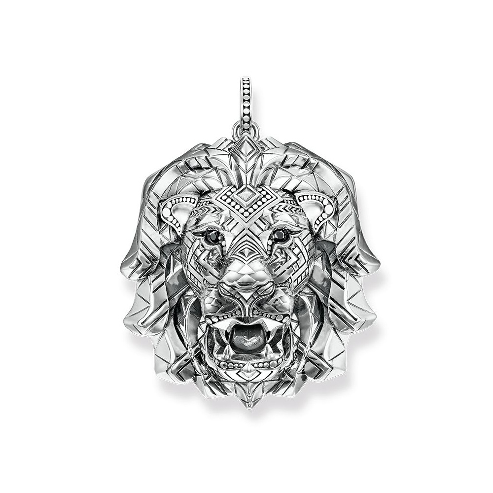 Thomas sabo silver lion pendant pe756 643 21 jewellery from thomas sabo silver lion pendant pe756 643 21 aloadofball Image collections