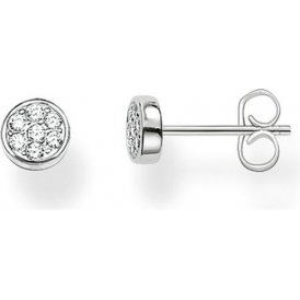 Thomas Sabo Silver Round Stud Earrings ~ H1848-051-14