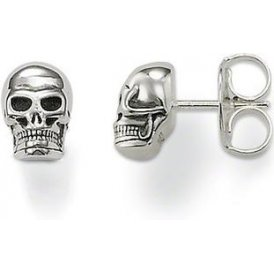 Thomas Sabo Silver Skull Stud Earrings ~ H1731-001-12