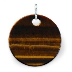 Thomas Sabo Tiger's Eye Disc Pendant