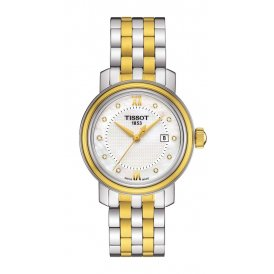Tissot Bridgeport Steel & Gold Ladies Watch ~ T0970102211600