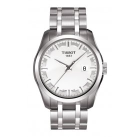 Tissot Couturier Quartz Steel Gents Watch ~ T0354101103100