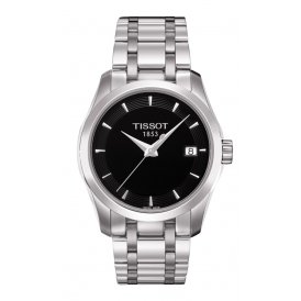 Tissot Couturier Quartz Steel Ladies Watch ~ T0352101105100