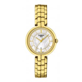 Tissot Flamingo Gold Ladies Watch ~ T0942103311100