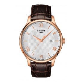 Tissot Tradition Rose Gold Gents Watch ~ T0636103603800